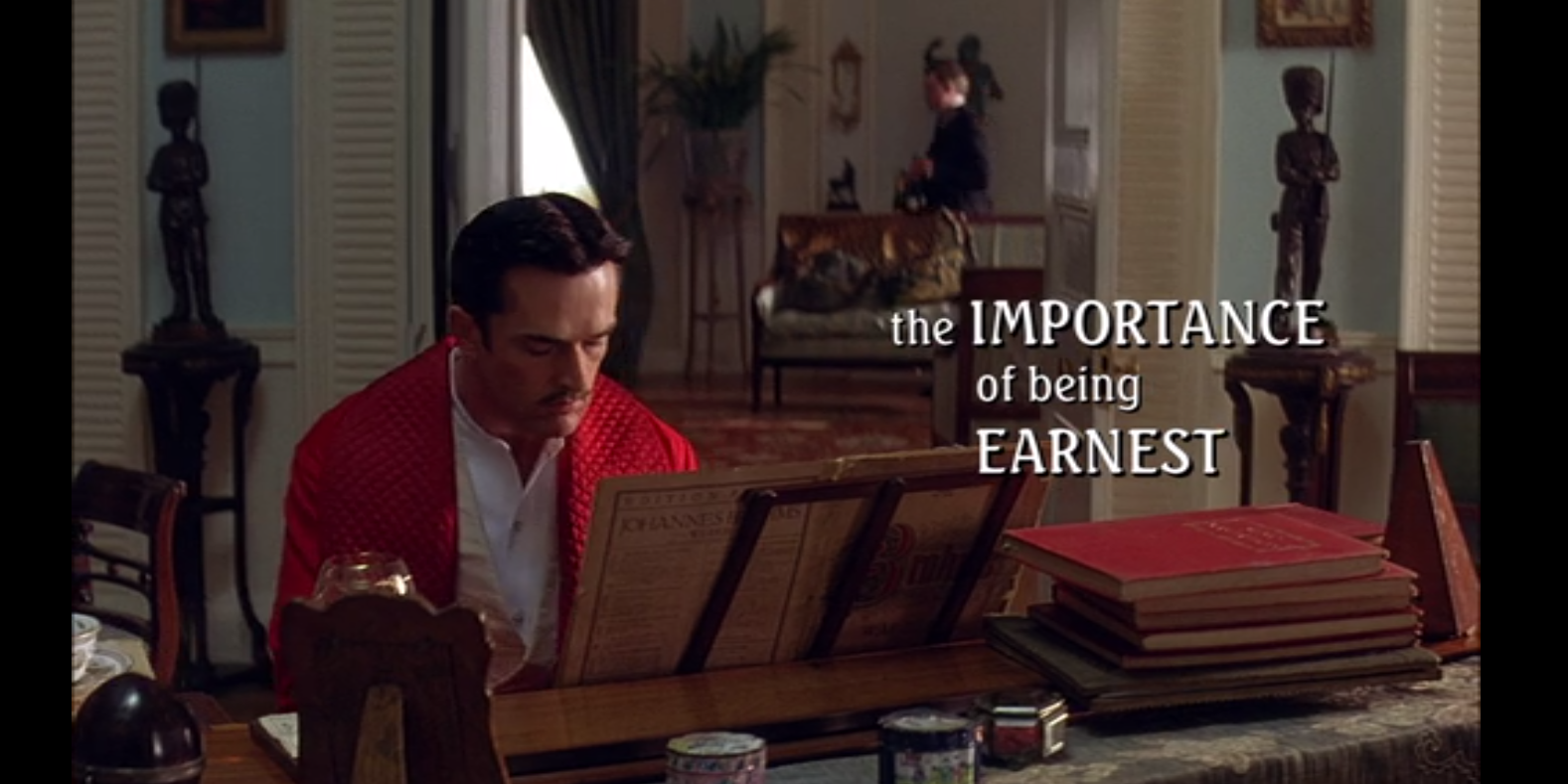 the importance of being earnest wilde s It's oscar wilde's beloved masterpiece, and it's more outrageous than it's ever been before directed by matthew cox, wilde's exquisitely scandalous.